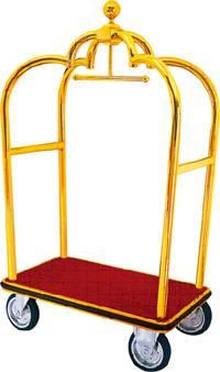 crown hotel luggage trolley