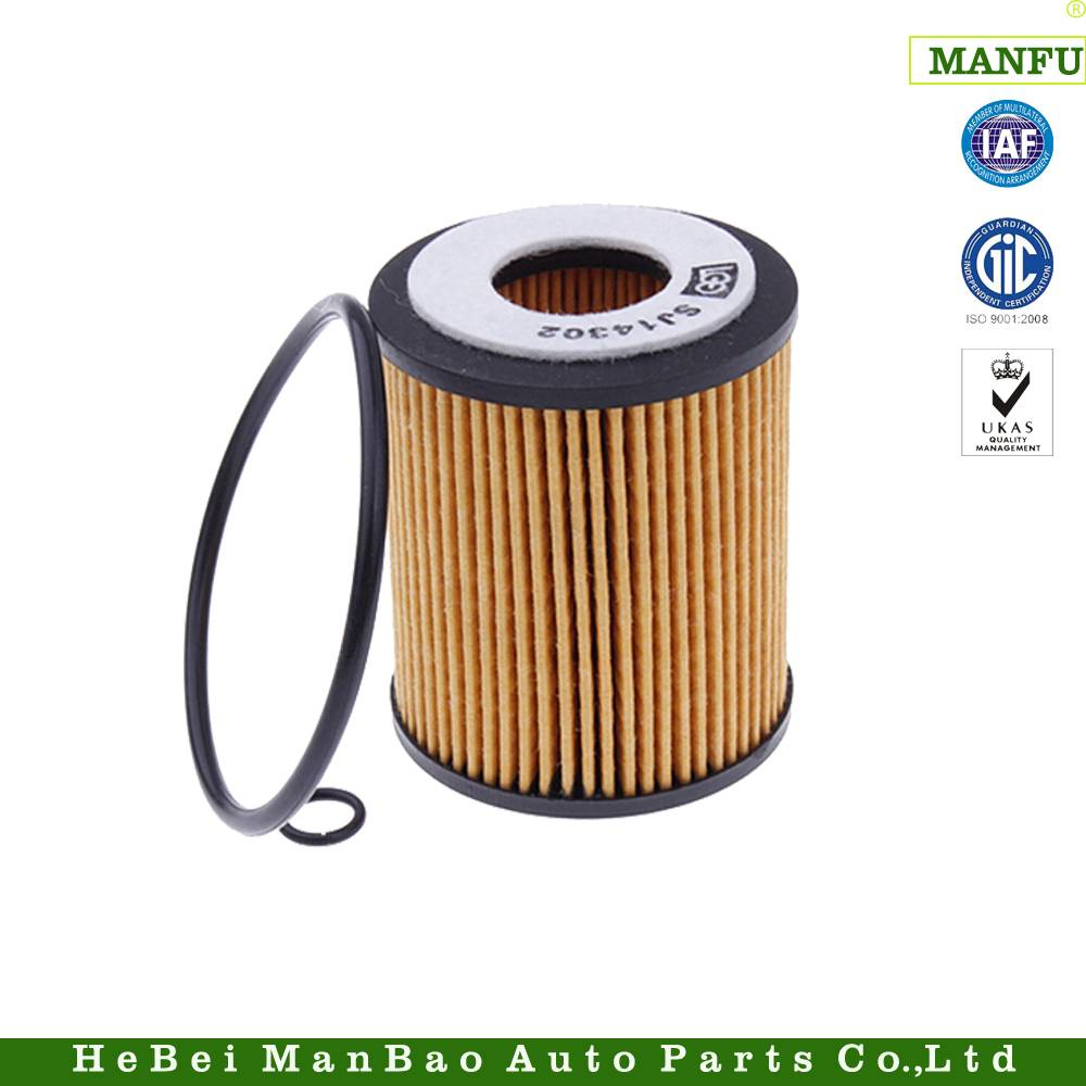 Paper Core Car Accessories Auto Oil Filter (L321-14-302)