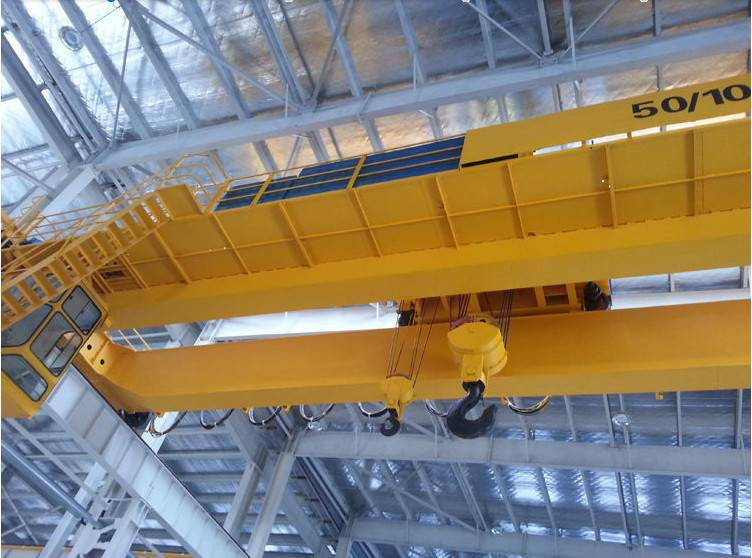 QE type double car bridge crane of china manufactures