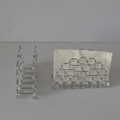 Crystal Acrylic Beads Decorative Napkin Holder