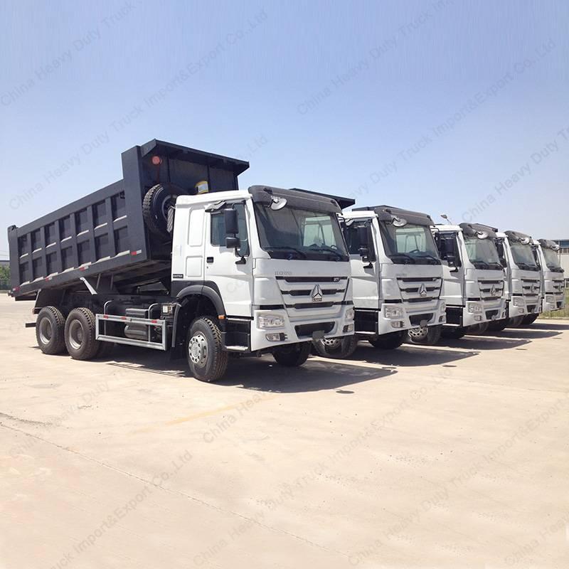 New 20tons -30tons HOWO Tipper Truck 336HP 10wheels Sinotruk Dumper