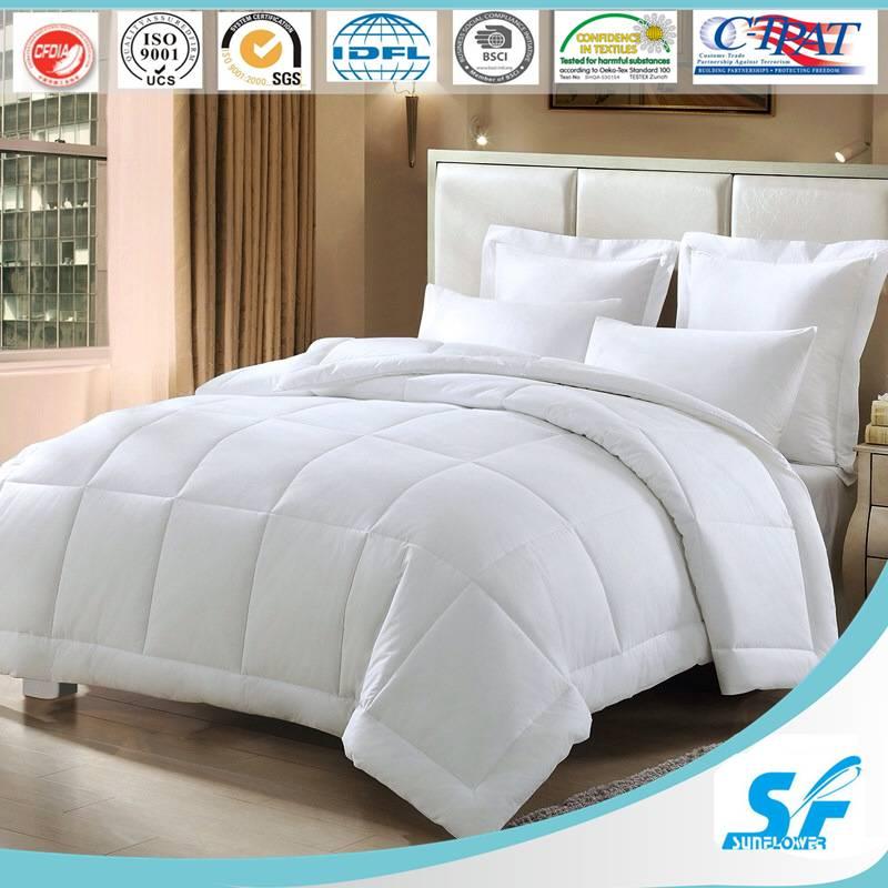 190T/230T/245T quilted microfiber filling Duvet/Comforter