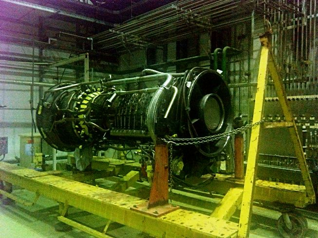 31 MW GE LM2500+ Gas Turbine Parts or Repair