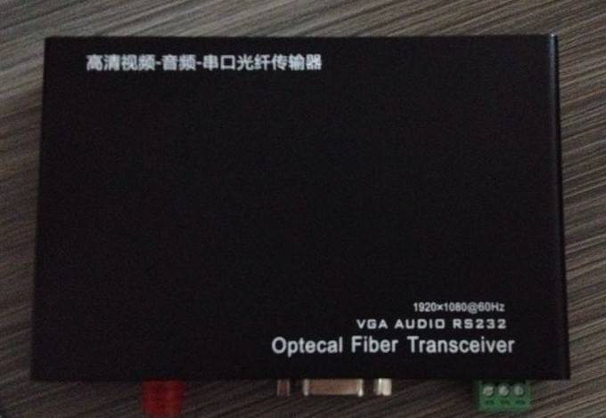 VGA Fiber Optic Transmitter and Receiver