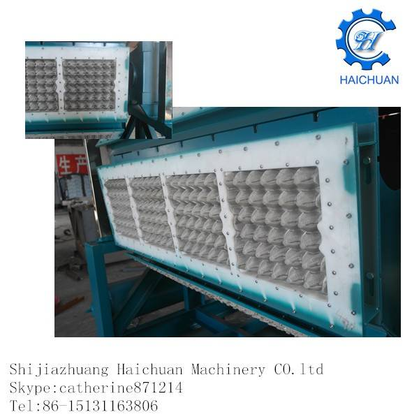 paper egg tray pulp molding machine molds