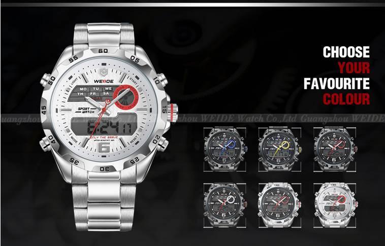 WEIDE WH3403 3ATM Sport Hot Sale Digital Causal Waist Watch