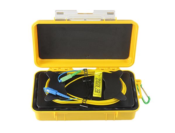 Factory Price 500m 1km 2km 3km 5km OTDR Launch Cable Box Optical Fiber Test FC Sc OTDR Extension Lin