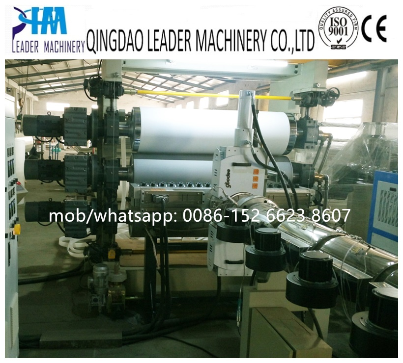 PMMA light guide sheet/panel extrusion line