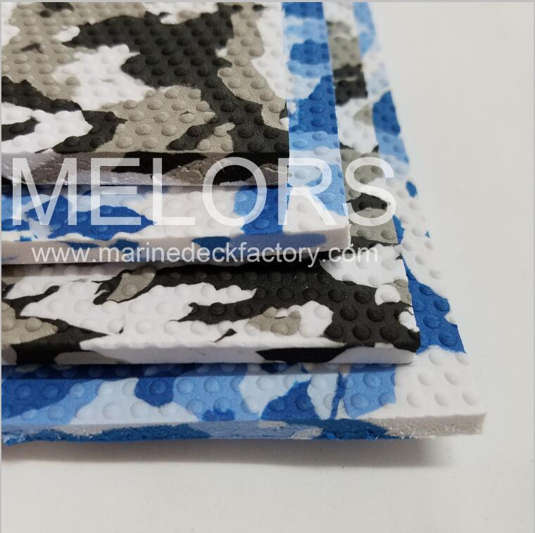 Melors EVA Non-skid Camo Embossed Dimpled Material
