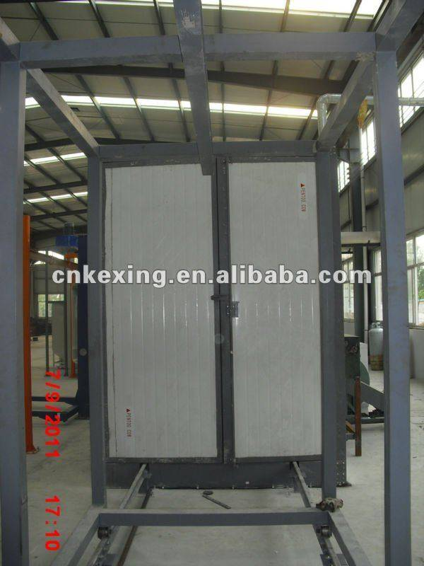 2015 Electric powder curing oven factory in China