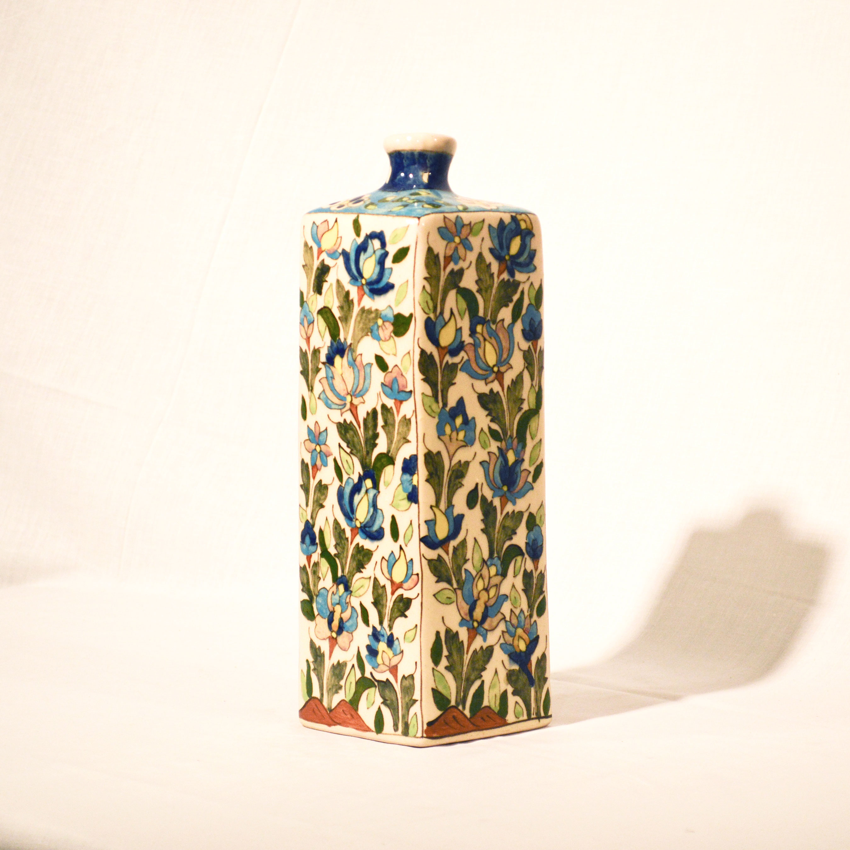 Hand Painted Cubic Vase No.3