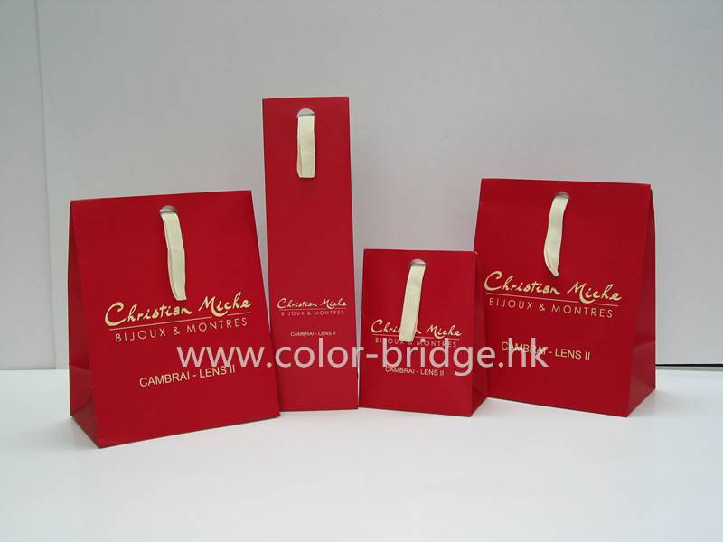 Hot Sale Customizing Shopping Paper Bag Portable Gift Bag