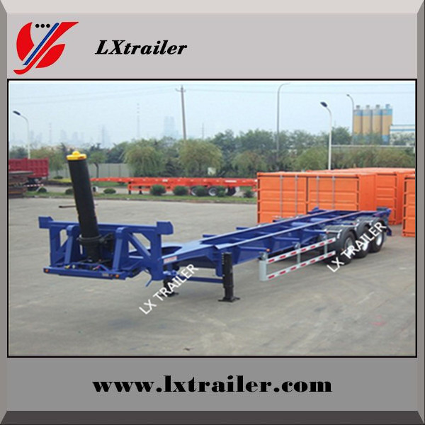 40feet container trailers with hydraulic cylinder lift