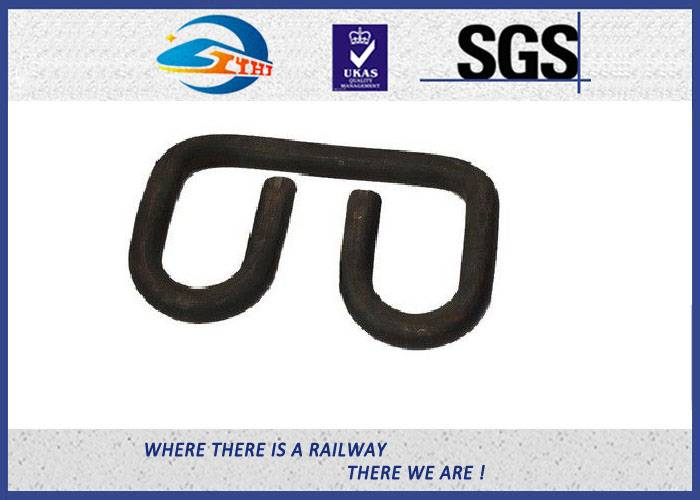 ZhongYue SKL14 Oxide Black Elastic Rail Clips Galvanized Clamp as Railway Fastening System