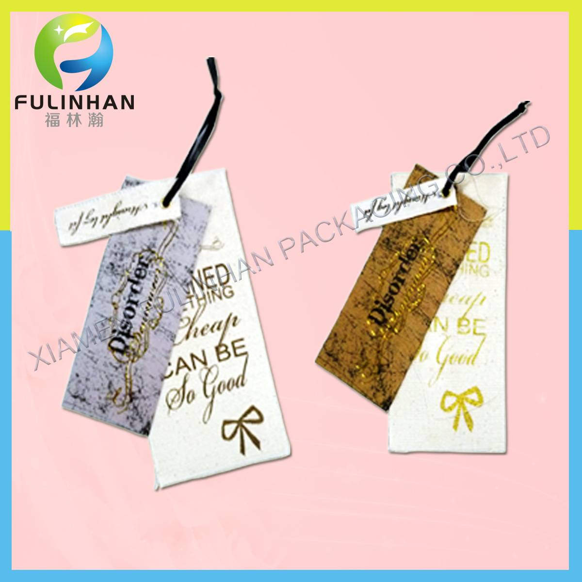 Garment packing label,garment packing tag