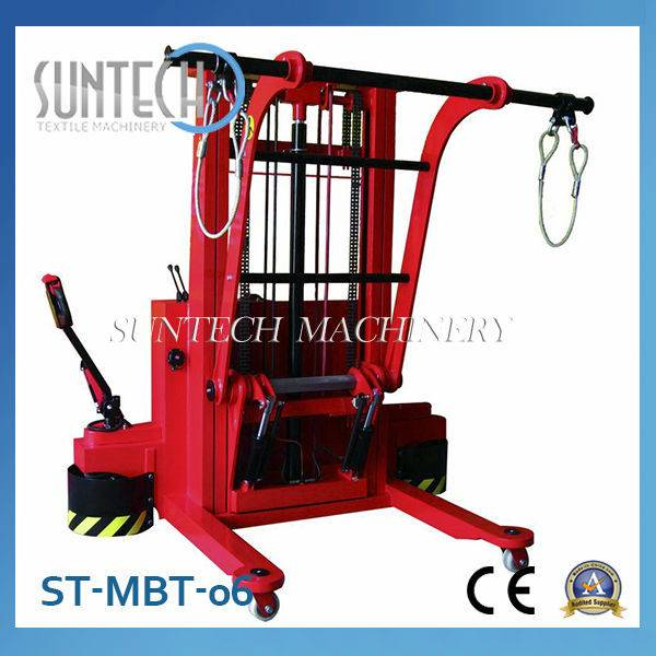 ST-MBT-06 High Quality Motorized Warp Knitting High Lift Trolley For Sale