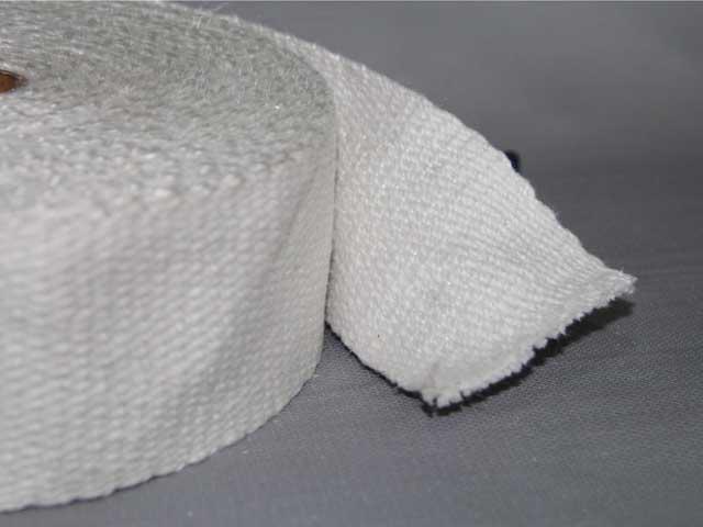 HP06CG Ceramic Fiber Woven Insulation Tapes With Fiberglass Filament