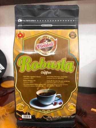 Sell ROBUSTA ROASTED COFFEE BEANS - Viet Deli Coffee Co., Ltd