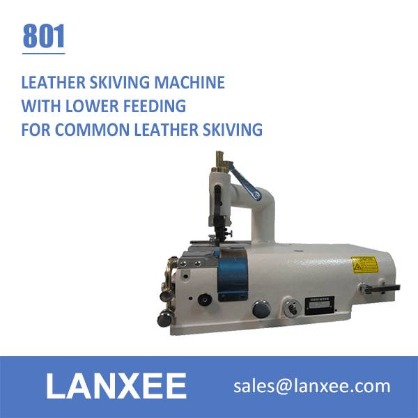 Lanxee 801 Leather Skiving Machine
