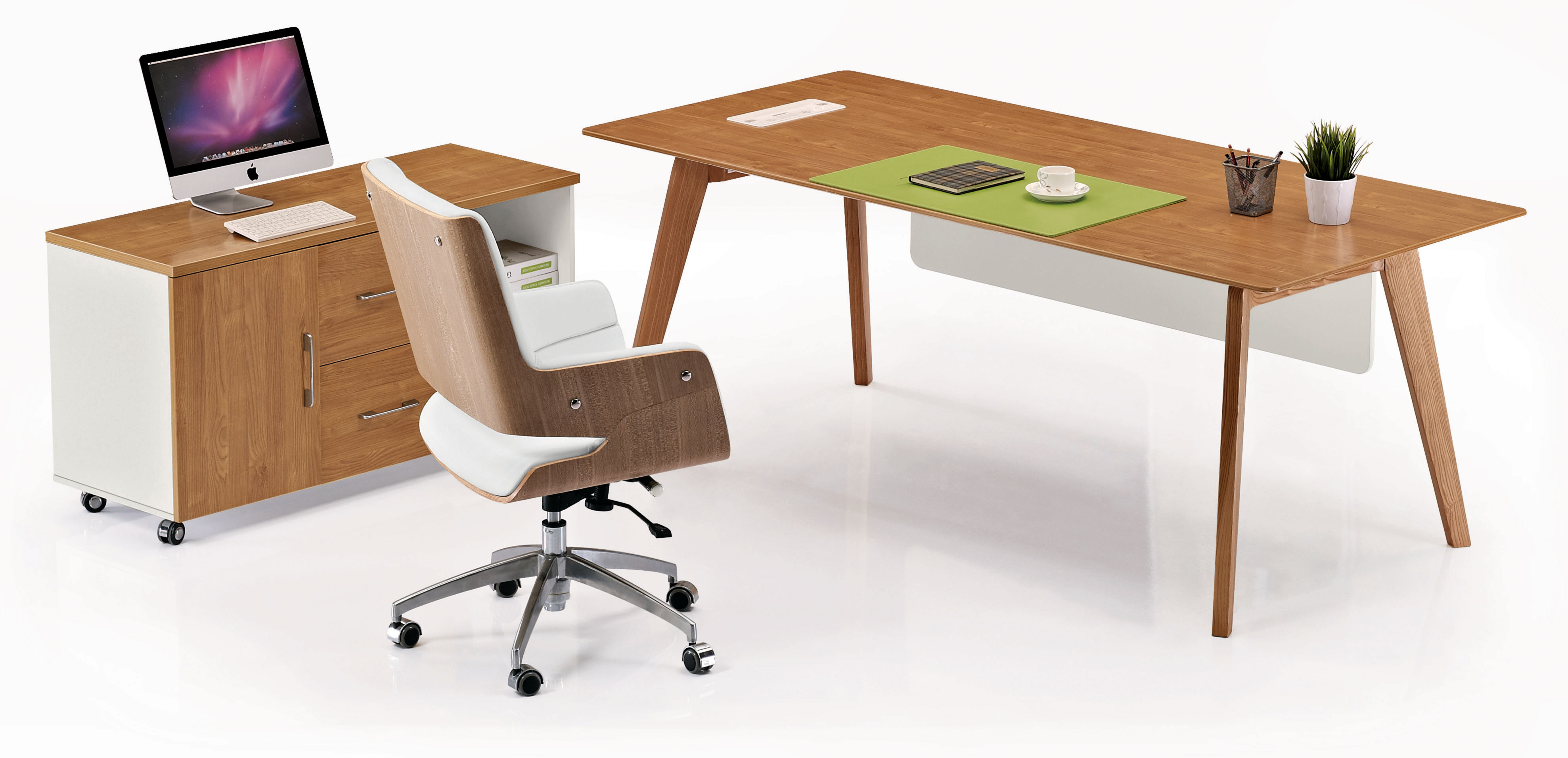 MDF limited warranty 5 years scratch resistant SGS office desk