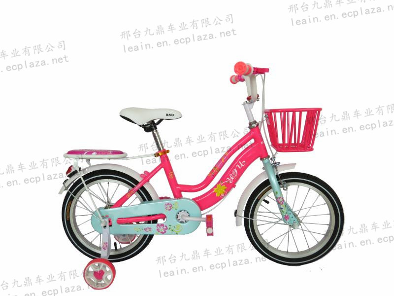 Kids bike with strong basket and carrier/good-looking children bike/manufacture bicycle-jd21