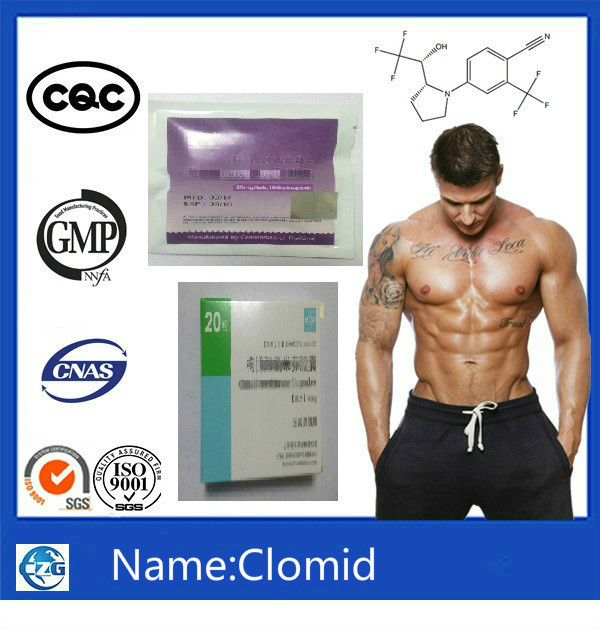 Pharmaceutical Steroids Hormone Powder & Tablets Clomid Best Price