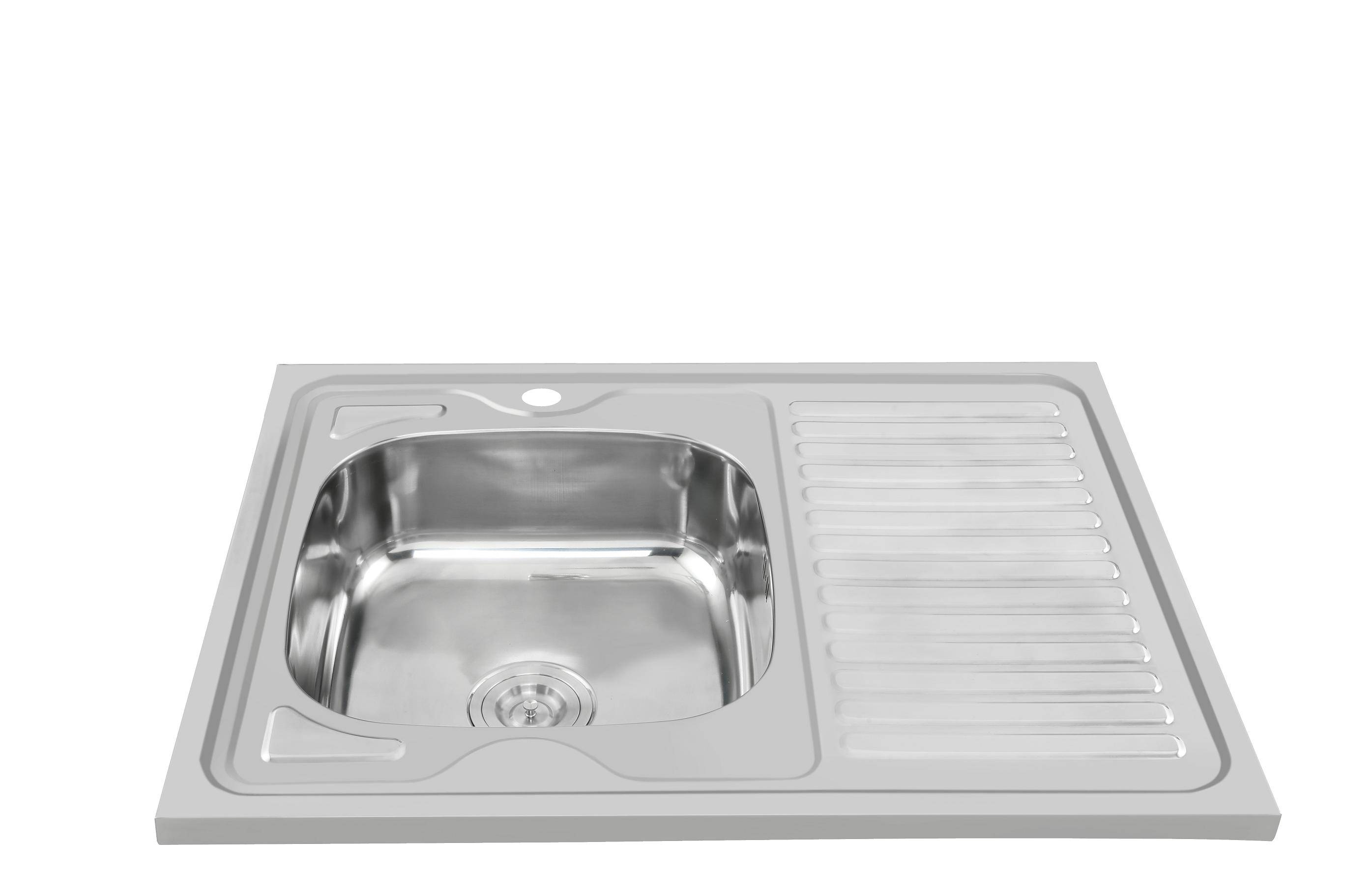 Quallity guaranteed factory supply kitchen sink WY-8060SA