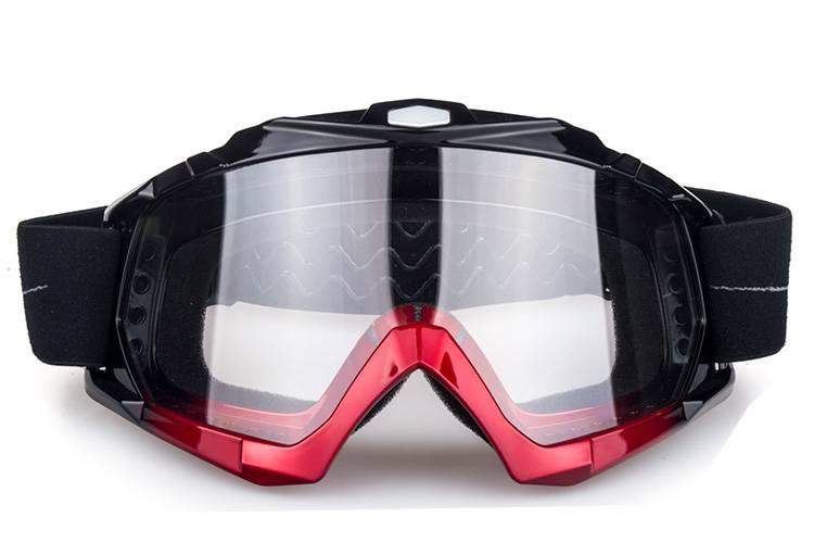 clear lens unisex motocross goggles