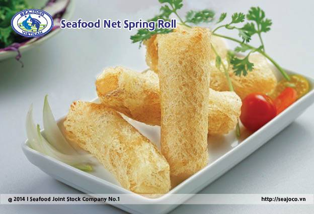 Seafood Net Spring roll