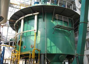 Rice bran oil press preparation process