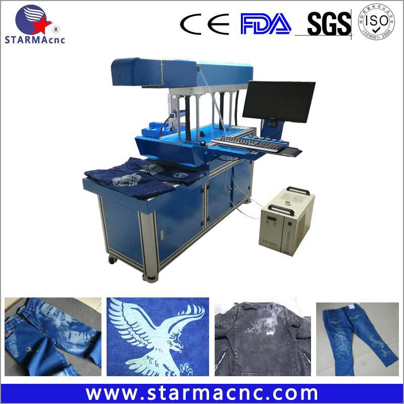 CO2 Laser Marking Machine Price for Cloth