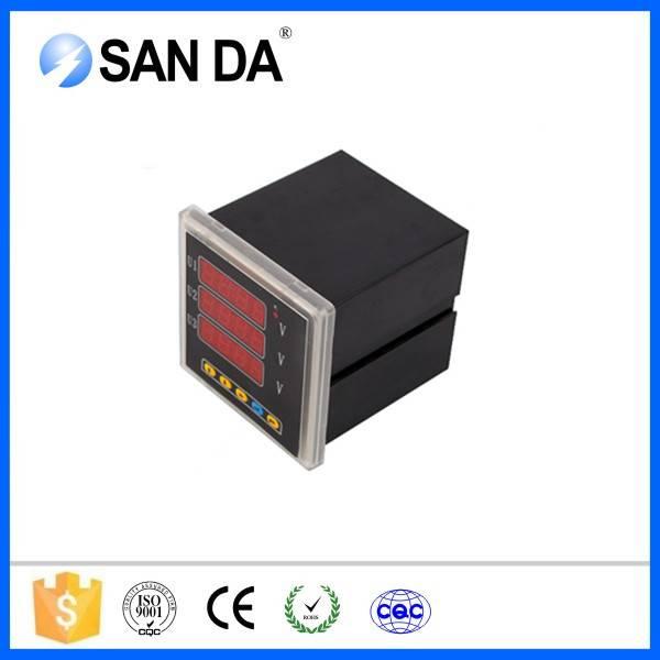 New Red LED Panel Meter Mini Display Digital Voltmeter AC 75V to 300V