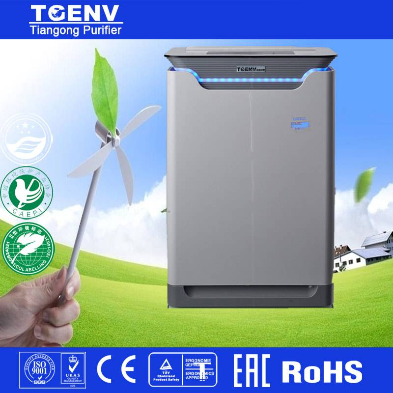 Fashion HEPA Filter Ion and Ozone Air Purifier for Home
