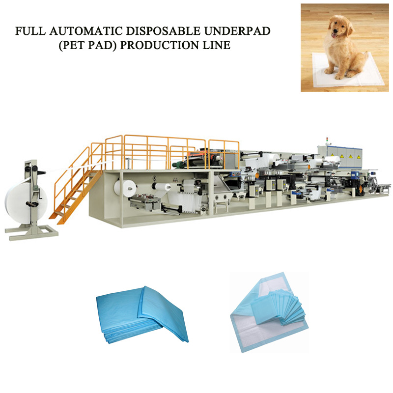 Disposable Underpad Making Machine