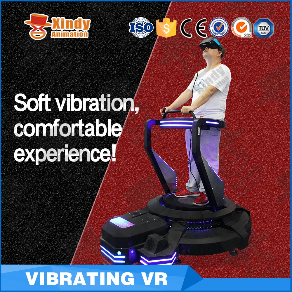 2017 Guangzhou Zhuoyuan 9d virtual reality 9D virtual Cinema VR Amusement equipment