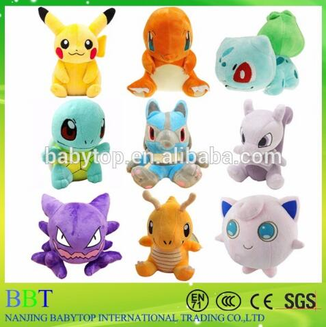 Various Type Pokemon Plush Selling Wholesale Pokemon Plush For Kids