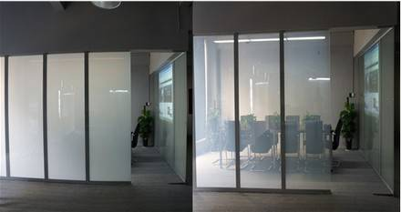 smart switchable glass,laminated glass safe glass