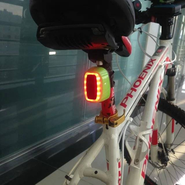 GS X6 Bike rechargeable smart rear light