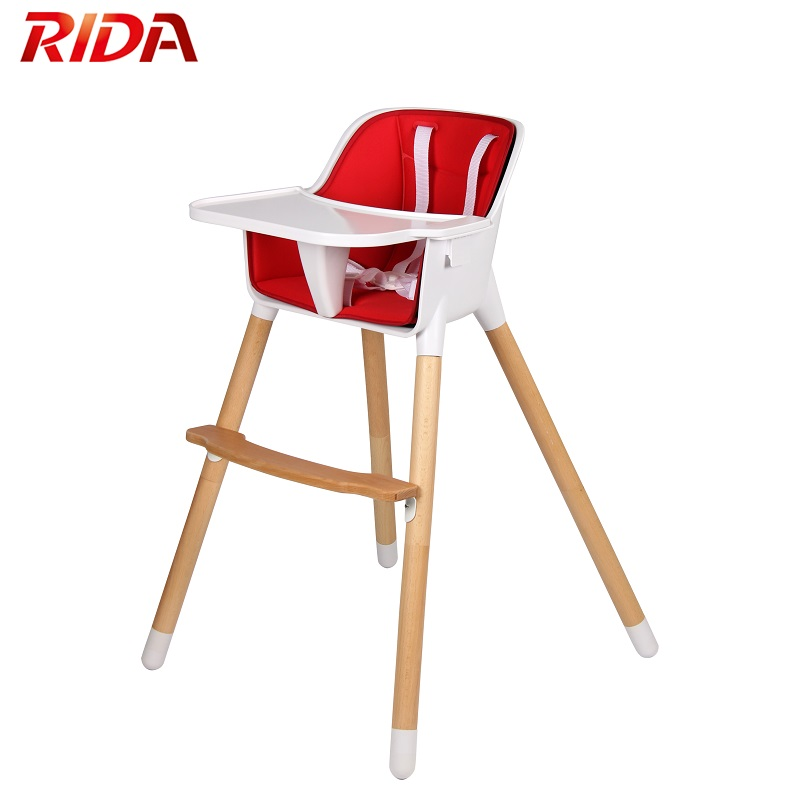 Widely Used Superior Quality Wooden Baby High Chair