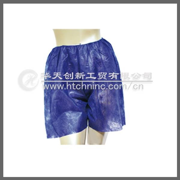 disposable short pant for man