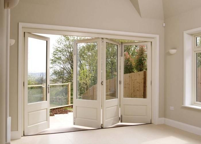 70 Series Aluminum Composite Wood Door