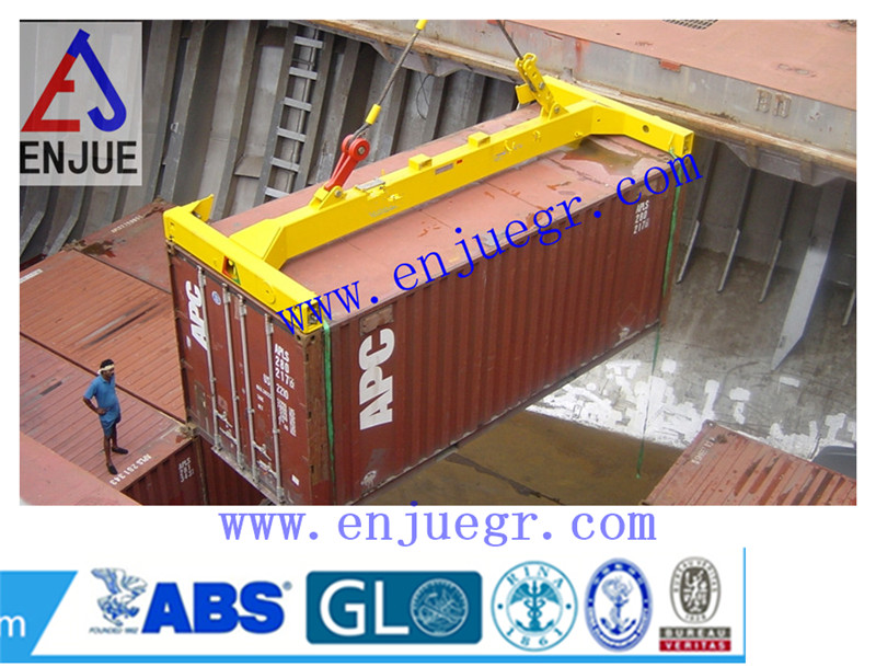 I Type Semi-Automatic Container Spreader Container Lifting Spreader
