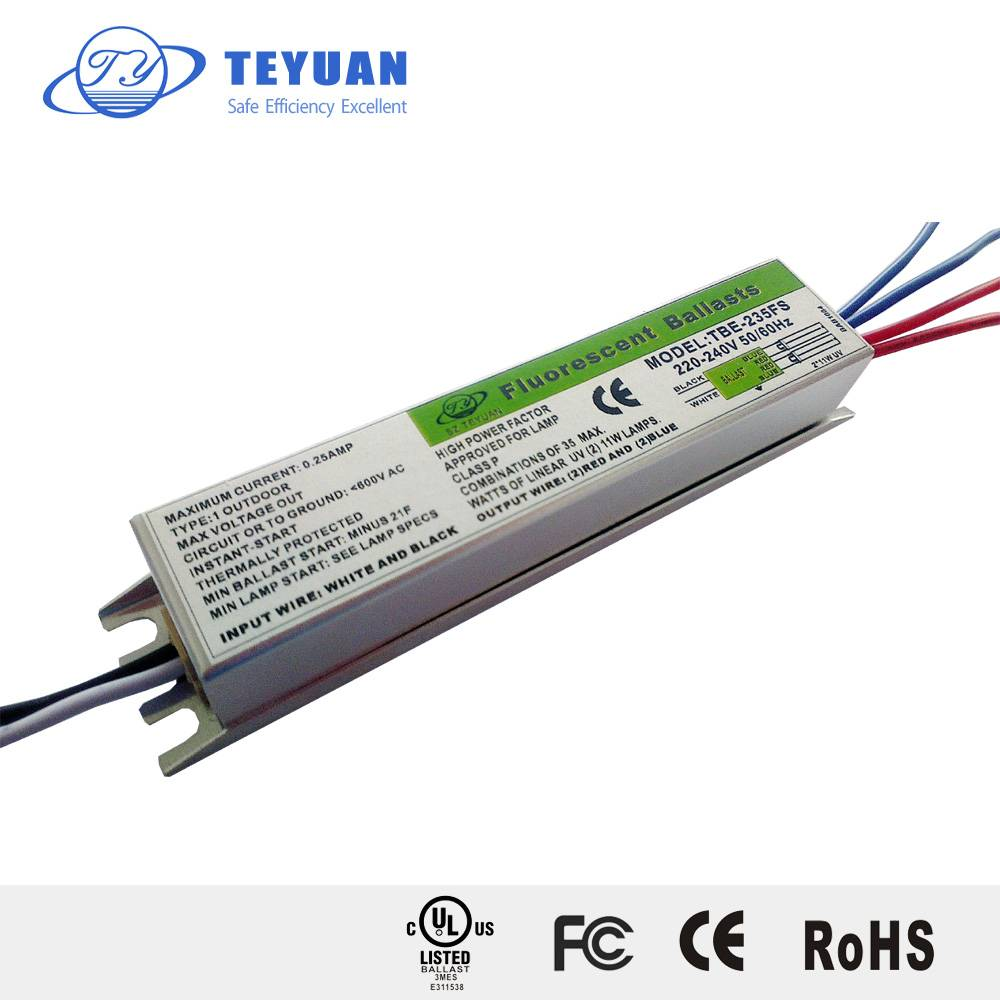 Electronic Ballasts Specilized for UV Lamp