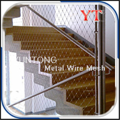 Stainless Steel Rope Mesh for Staircase Mesh