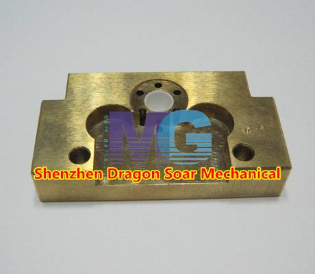 Mitsubishi EDM Brass Plate X053C884G52 Lower D=0.40 mm