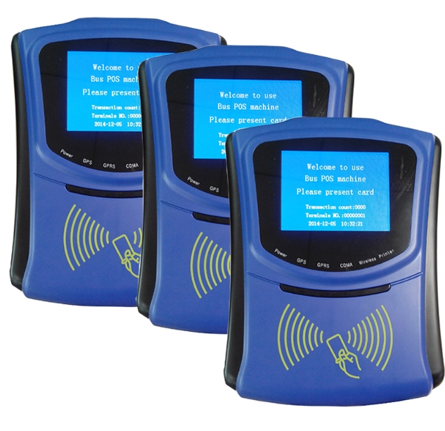 The Automatic Urban Bus Fare Collection Mifare Card Reader