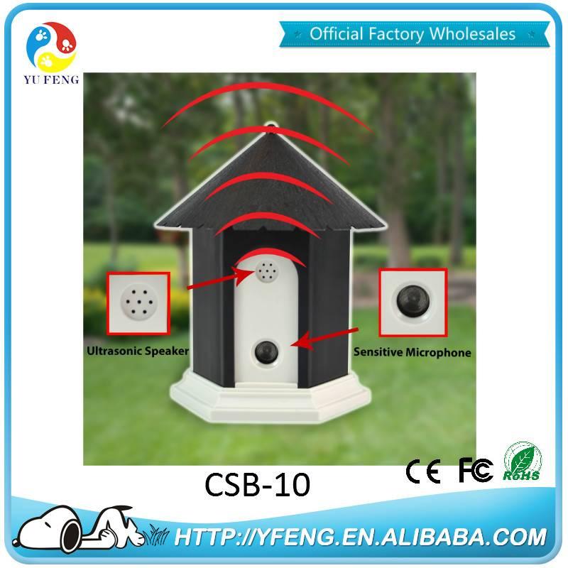 2016 Yufeng Factory Water Resistance Indicator Light Pet Dog Anti Bark Device CSB-10