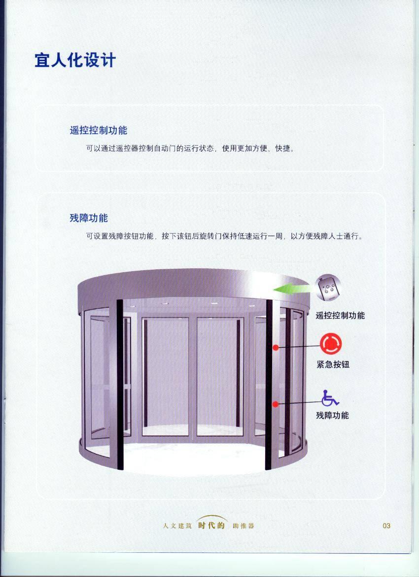 2 Wings Revolving Door /  KA 022
