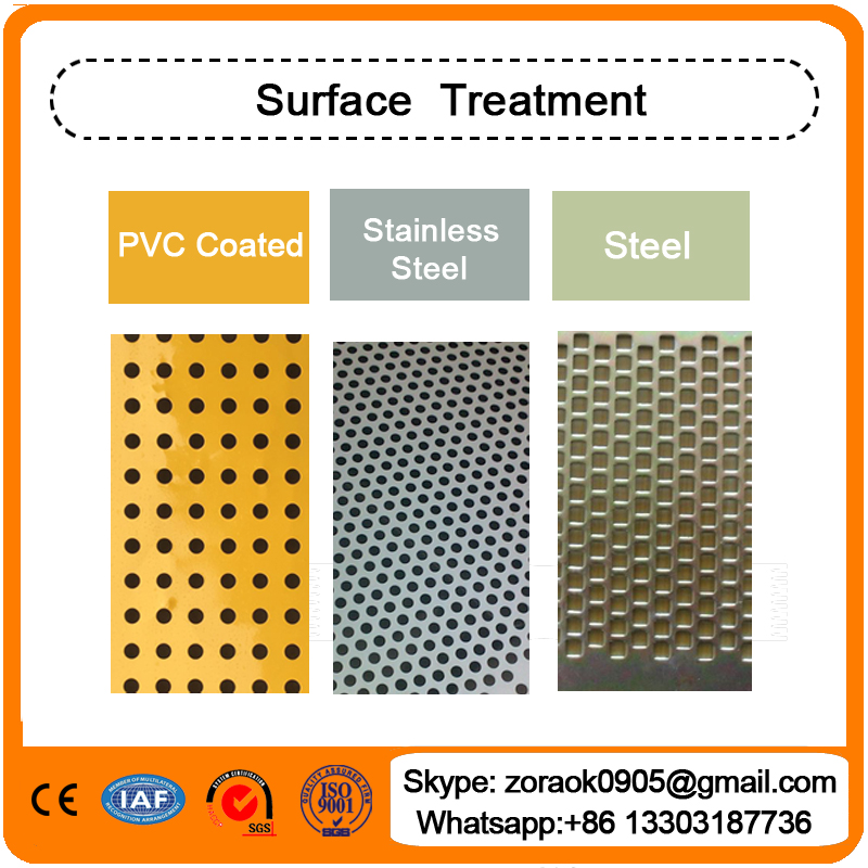 Perforated mesh in anping