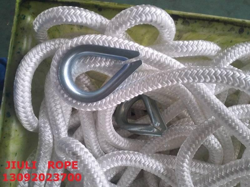 nylon double braided rope